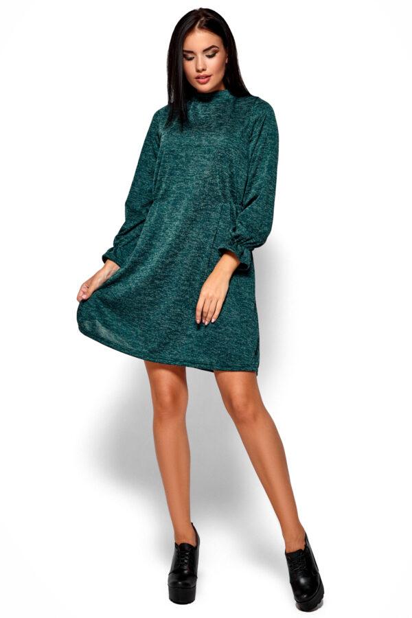 Платье Павлина Темно-зеленый Karree