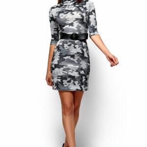 Платье Эдра Хаки Karree купить Платье
