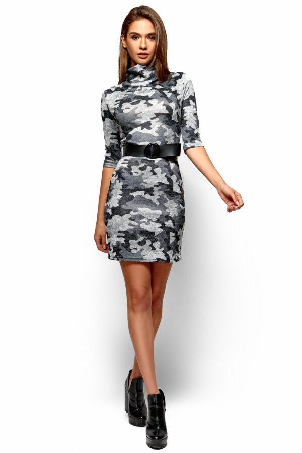 Платье Эдра Хаки Karree