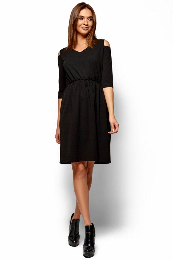 Платье Злата Черный Karree