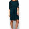 Платье Злата Темно-зеленый Karree