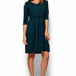 Платье Злата Темно-зеленый Karree купить Платье