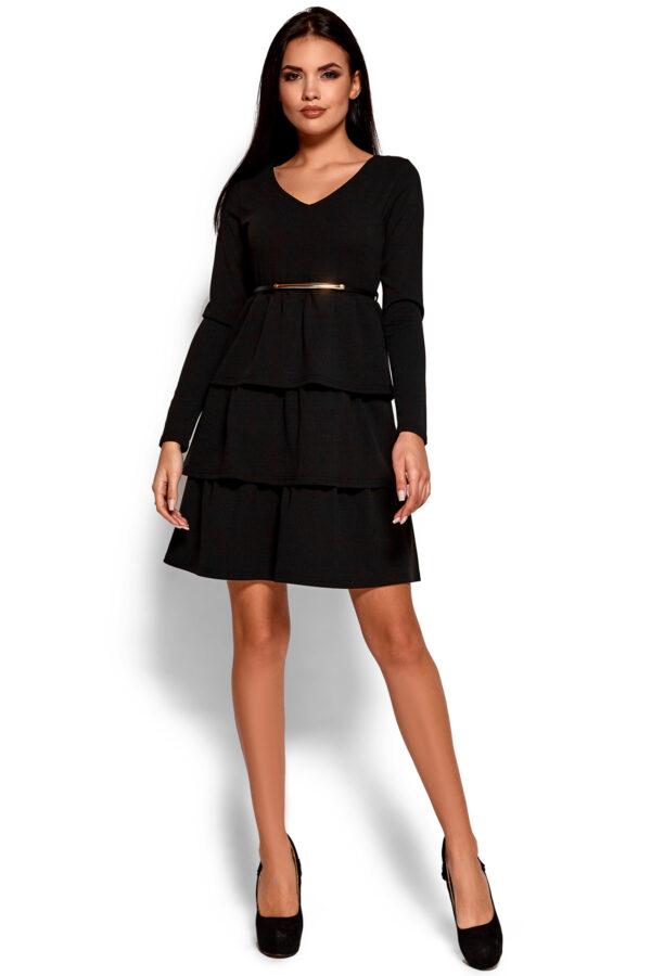 Платье Шарлиз Черный Karree