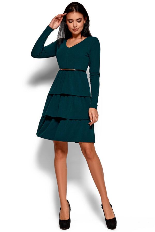 Платье Шарлиз Темно-зеленый Karree