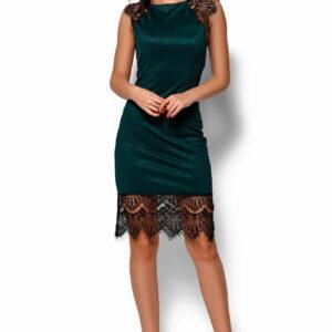 Платье Алира Темно-зеленый Karree купить Вечернее платье