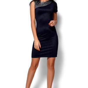 Платье Зара Темно-синий Karree купить Вечернее платье
