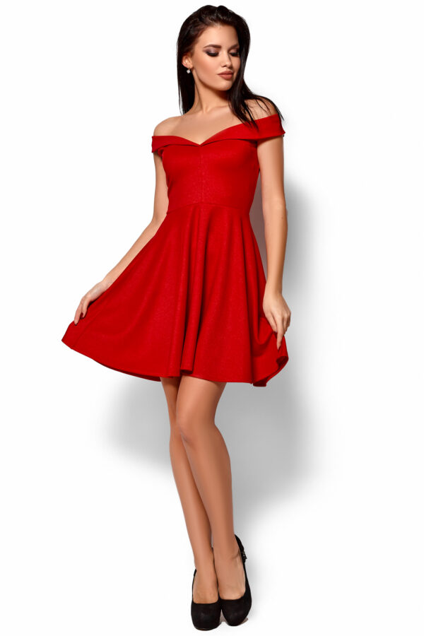 Платье Айла Красный Karree