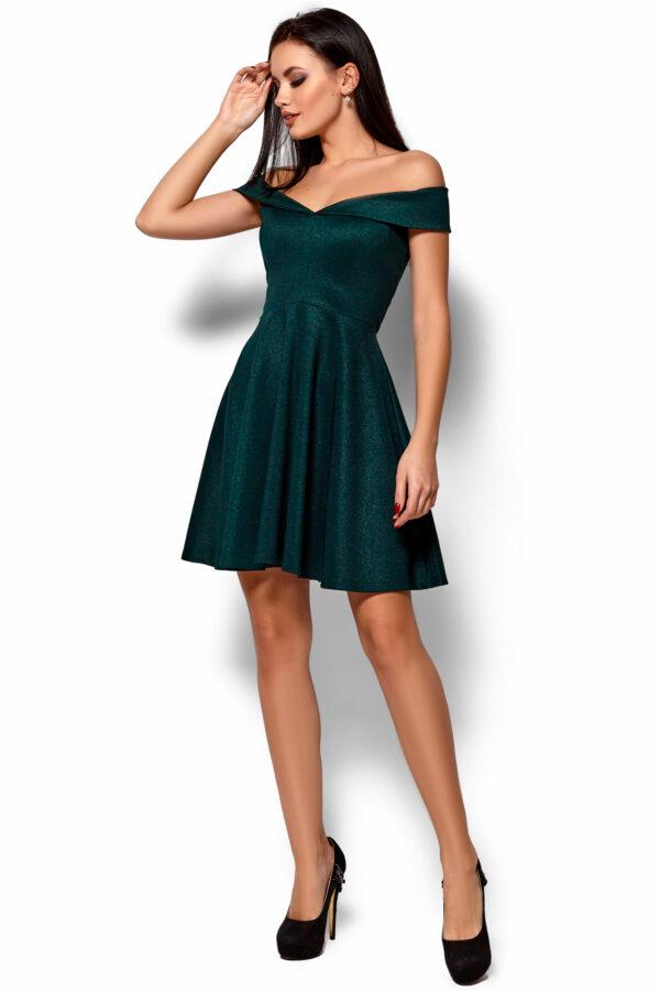 Платье Айла Темно-зеленый Karree