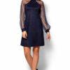 Платье Рената Темно-синий Karree