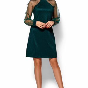 Платье Рената Темно-зеленый Karree купить Вечернее платье