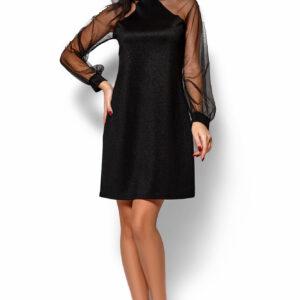 Платье Рената Черный Karree купить Вечернее платье
