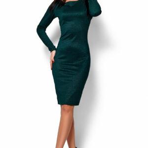 Платье Люси Темно-зеленый Karree купить Вечернее платье