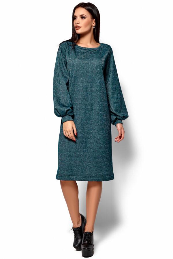 Платье Нино Темно-зеленый Karree