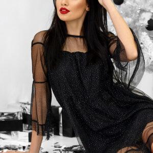 Платье Иви Черный Karree купить Вечернее платье