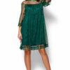 Платье Иви Темно-зеленый Karree