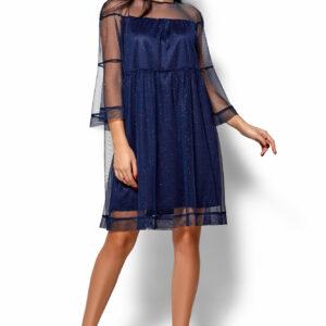 Платье Иви Темно-синий Karree купить Вечернее платье
