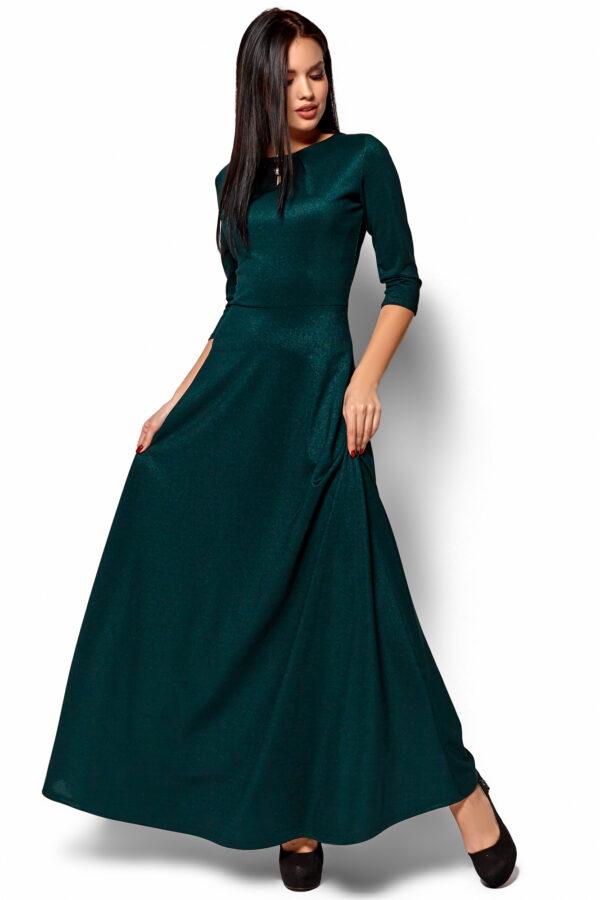 Платье Лилит Темно-зеленый Karree