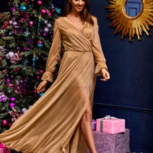 Платье Голди Бежевый Karree купить Вечернее платье