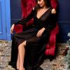 Платье Голди Черный Karree
