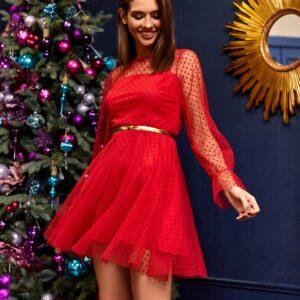 Платье Брайни Красный Karree купить Вечернее платье