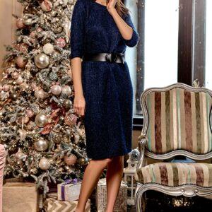 Платье Викки Темно-синий Karree купить Платье