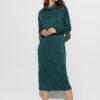 Платье Эрика Темно-зеленый Karree