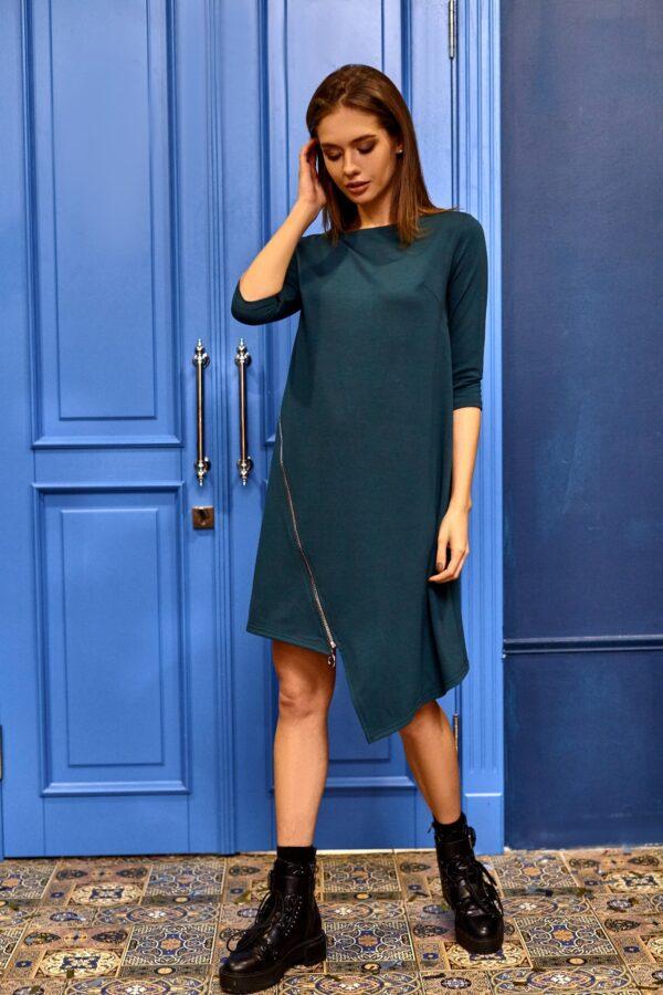 Платье Океана Темно-зеленый Karree
