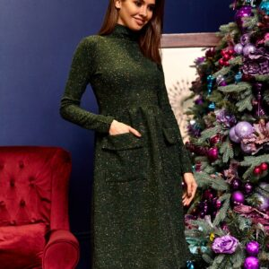 Платье Алина Зеленый Karree купить Платье