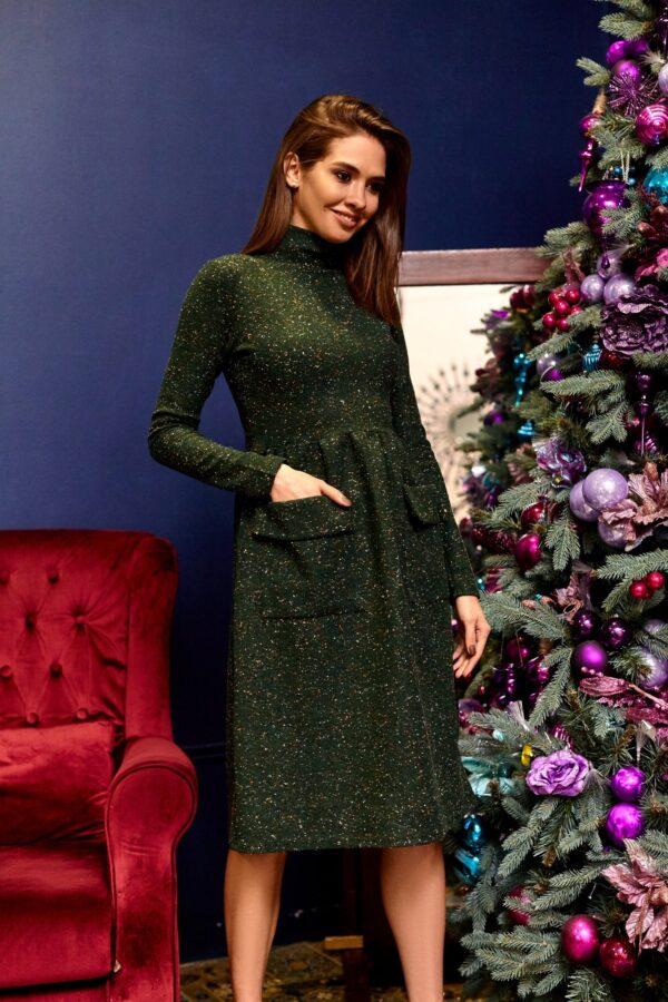 Платье Алина Зеленый Karree