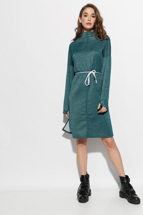 Платье Алиса Темно-зеленый Karree