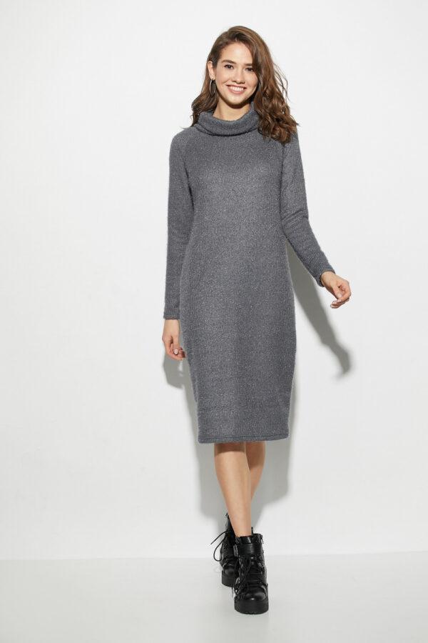 Платье Аляска Темно-серый Karree