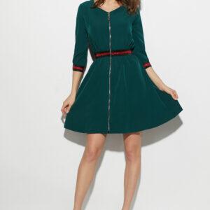 Платье Инфинити Темно-зеленый Karree купить Платье