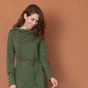 Платье Милтон Хаки Karree купить Платье
