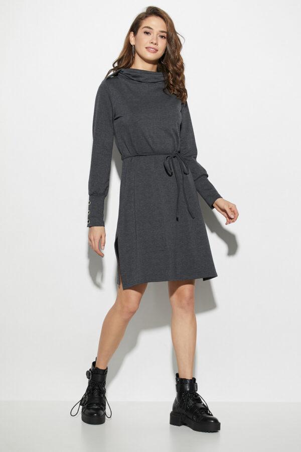 Платье Милтон Темно-серый Karree