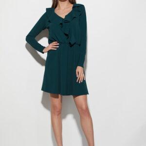 Платье Лотус Темно-зеленый Karree купить Платье
