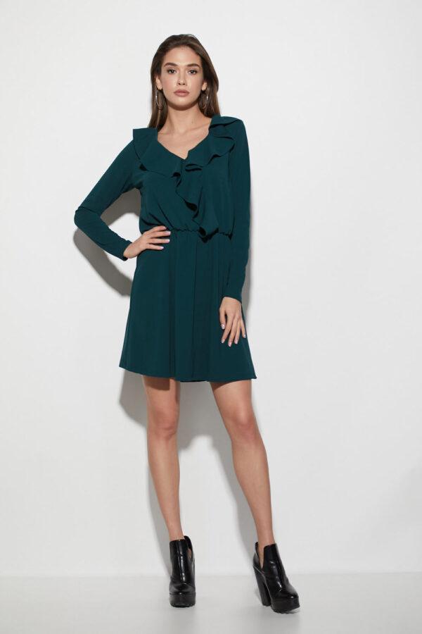Платье Лотус Темно-зеленый Karree
