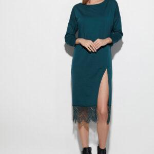 Платье Карина Темно-зеленый Karree купить Платье