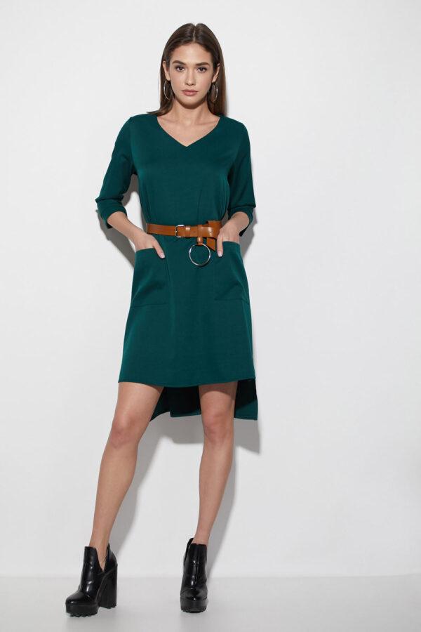 Платье Брюссель Темно-зеленый Karree