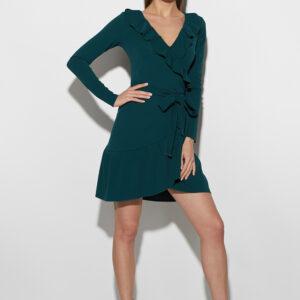 Платье Акура Темно-зеленый Karree купить Платье