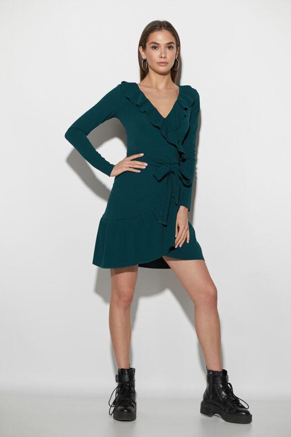 Платье Акура Темно-зеленый Karree
