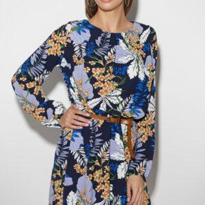 Платье Сальма Темно-синий Karree купить Платье