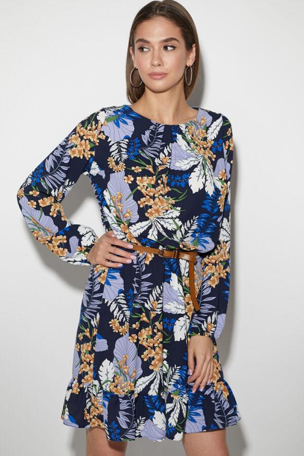 Платье Сальма Темно-синий Karree