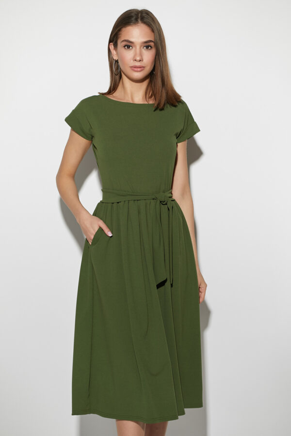 Платье Ментон Хаки Karree