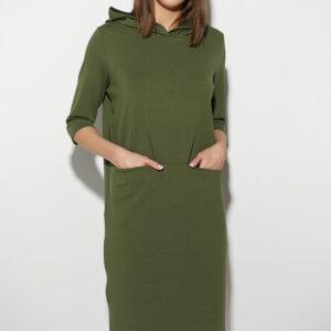 Платье Аванш Хаки Karree купить Платье
