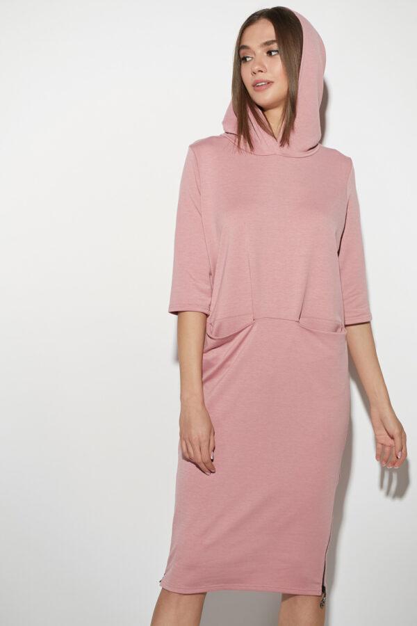 Платье Аванш Пыльно-розовый Karree