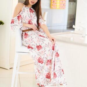 Платье Индиго Белый Karree купить Платье