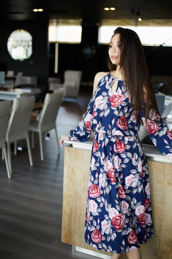 Платье Дельта Синий Karree