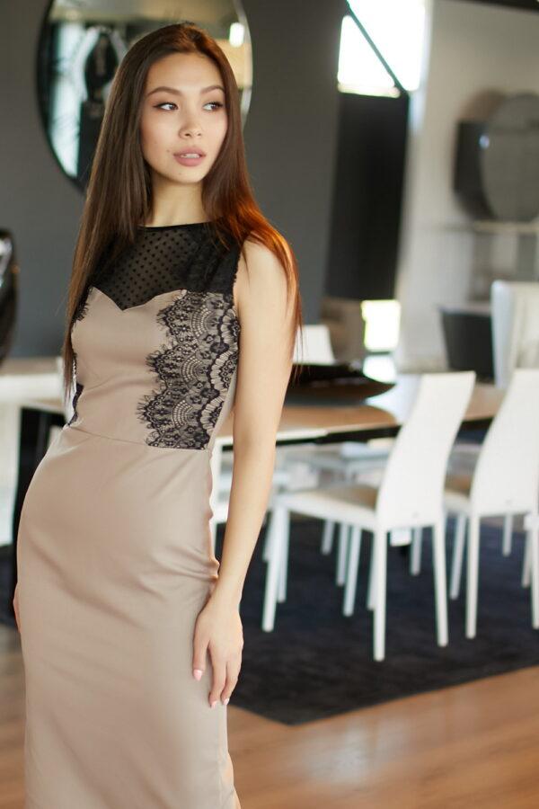 Платье Ким Темно-бежевый Karree