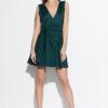 Платье Лия Темно-зеленый Karree