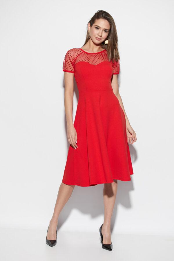 Платье Левант Красный Karree